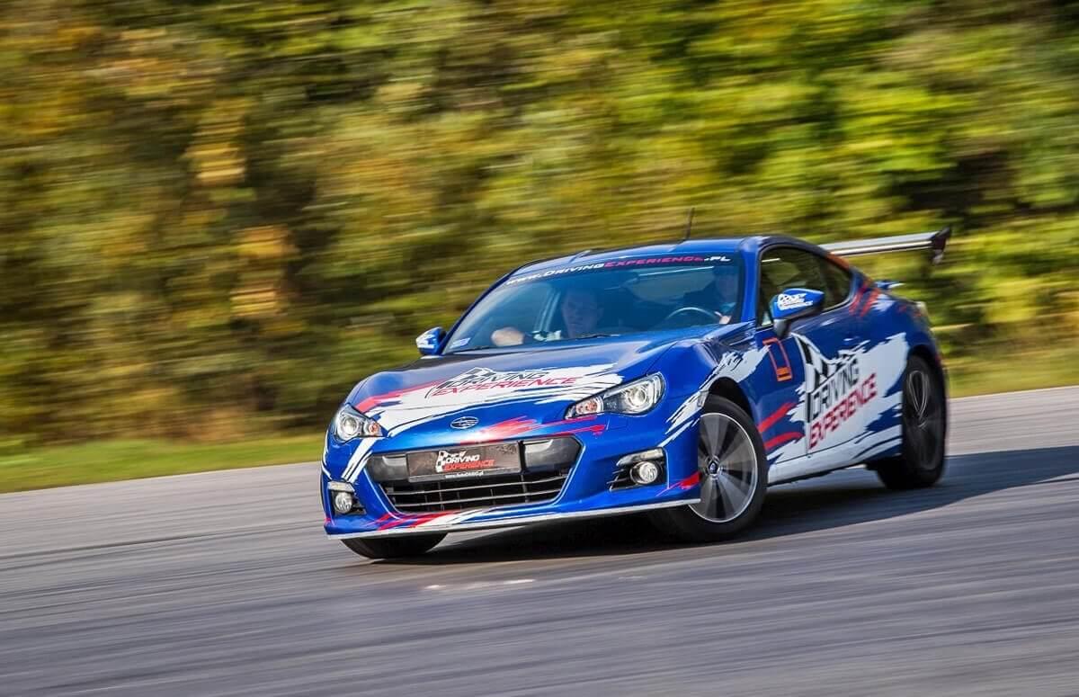 Trening driftingu Subaru BRZ
