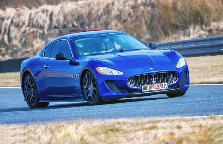 Maserati GranTurismo - jazda po torze