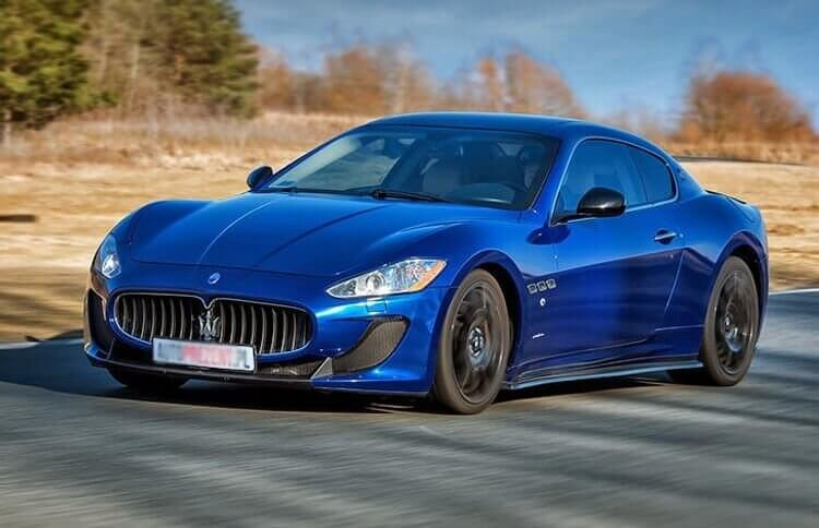 Maserati GT MC Stradale - jazda po torze