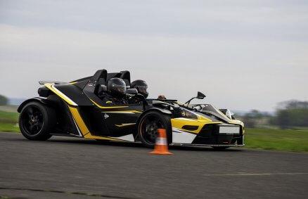 Jazda za kierownicą KTM X-Bow