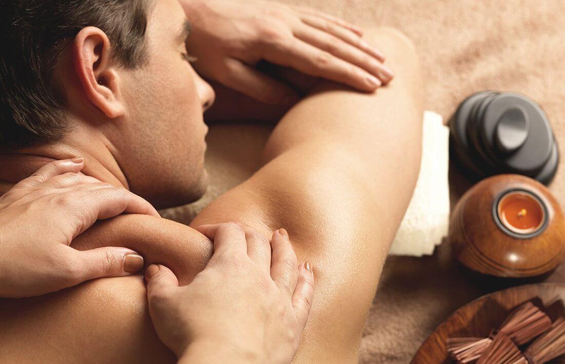 Zabieki SPA z masażem dla meżczyzny