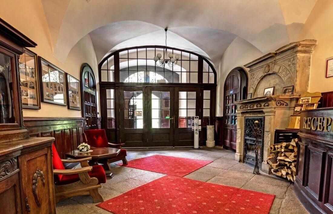 Pałac Krobielowice - recepcja