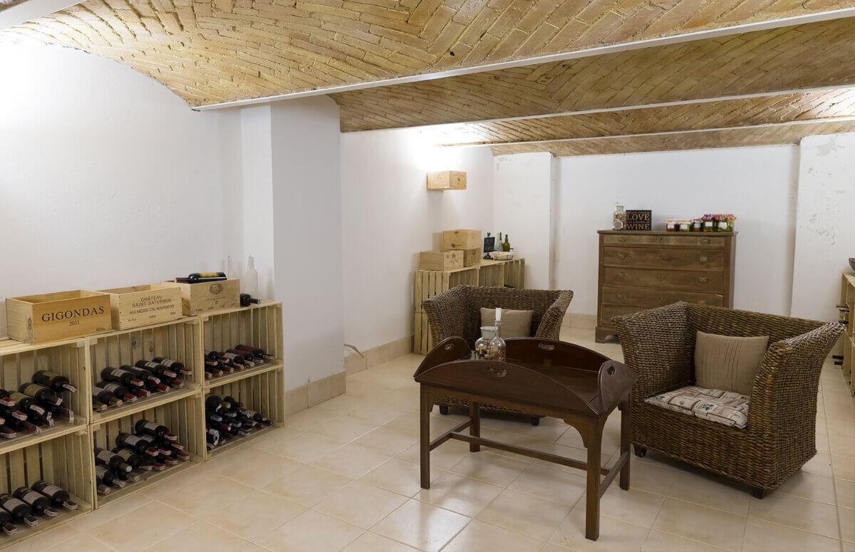 piwniczka - miejsce degustacji wina