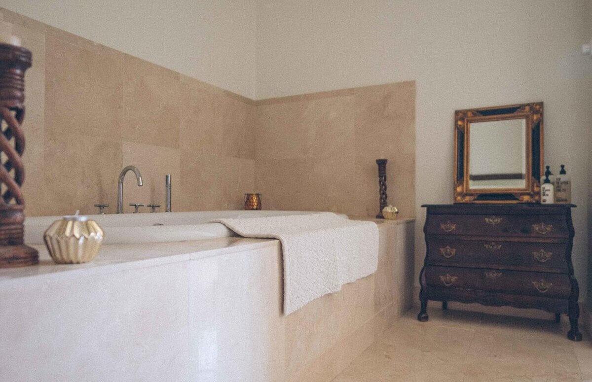Łazienka w komfortowym apartamencie Osowa Sień