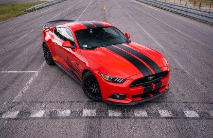 Jazda Fordem Mustangiem