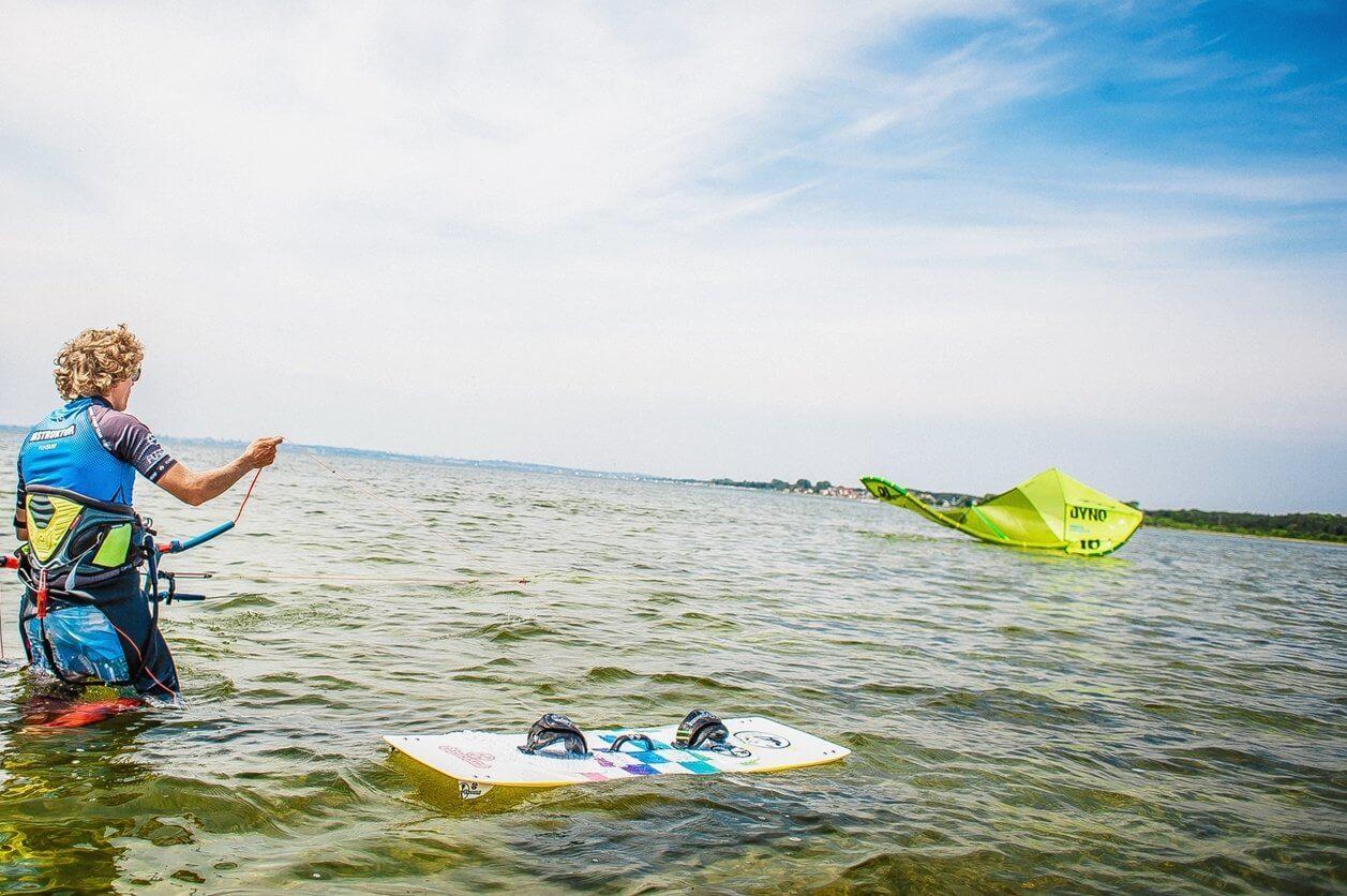 Kitesurfing na Helu - szkolenie