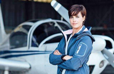 Kurs pilotażu - Pierwsza lekcja latania samolotem