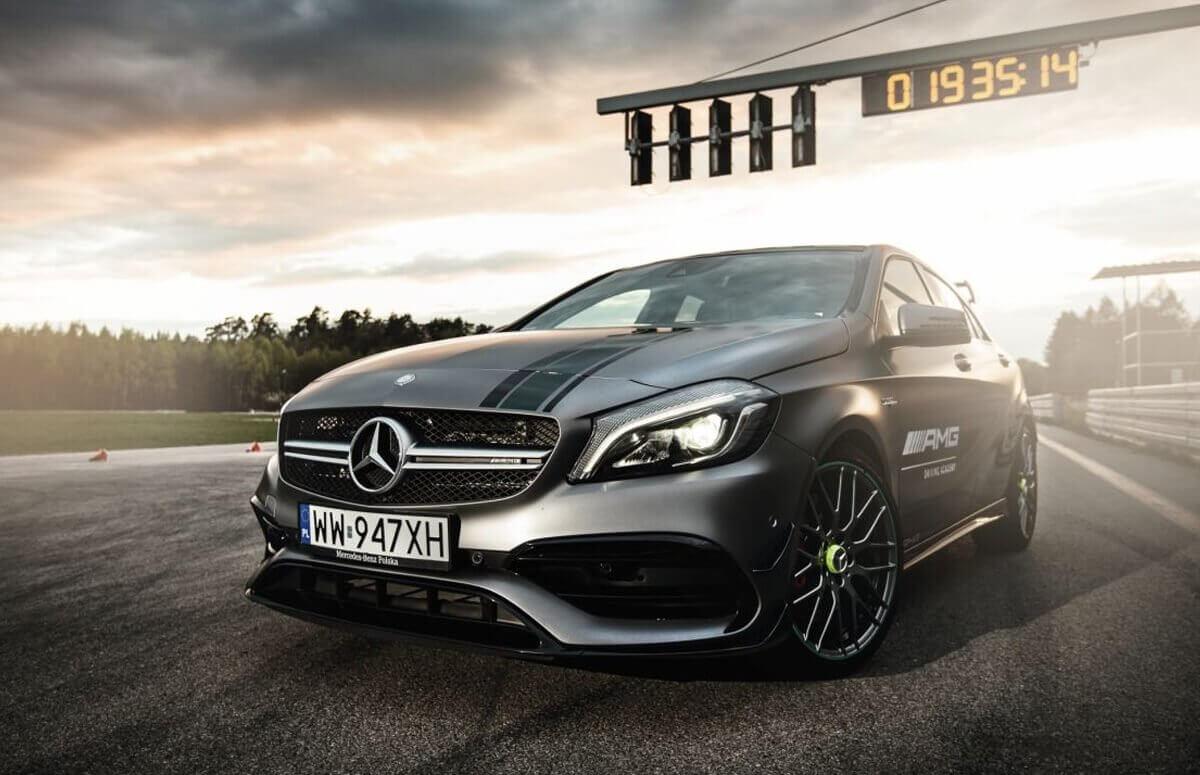 Jazda na Torze - Mercedes AMG A45