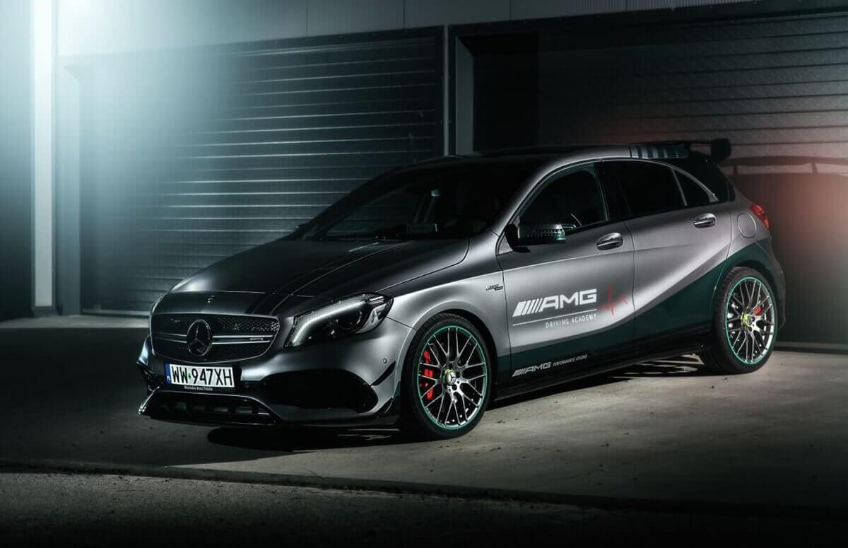 Jazda za kierownicą Mercedes AMG A45