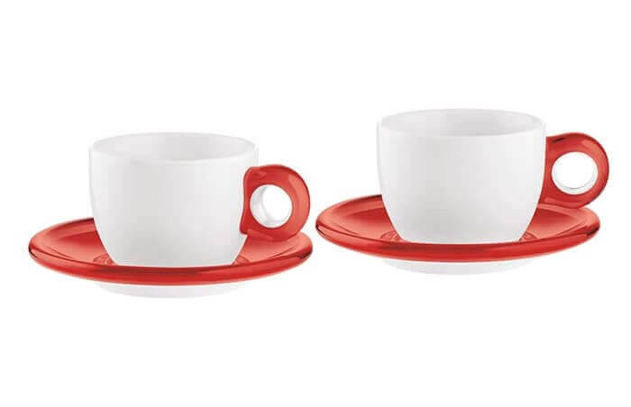 Komplet filiżanek do herbaty Gocce