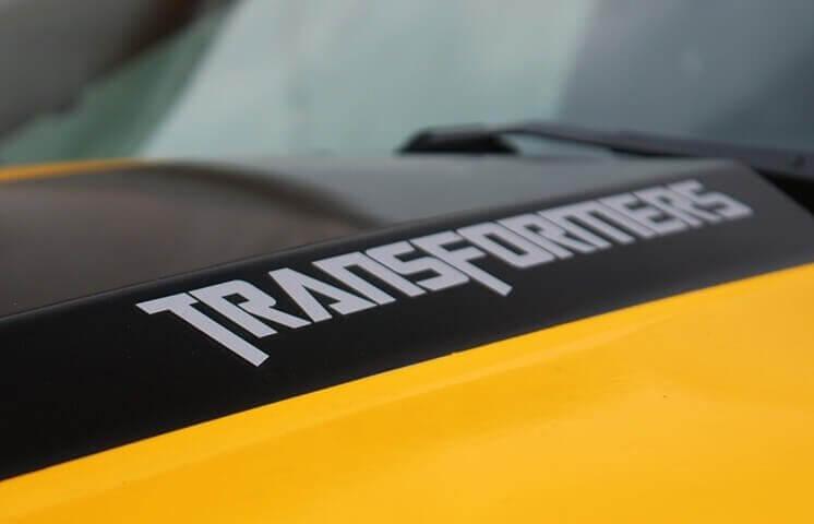 Camaro pojawił się w filmie Transformers