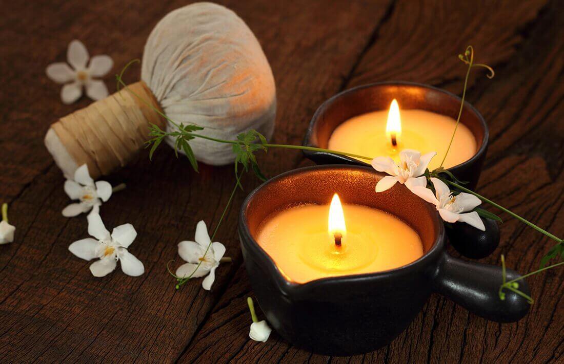 Masaż gorącą świecą - zabieg masażu w Warszawie