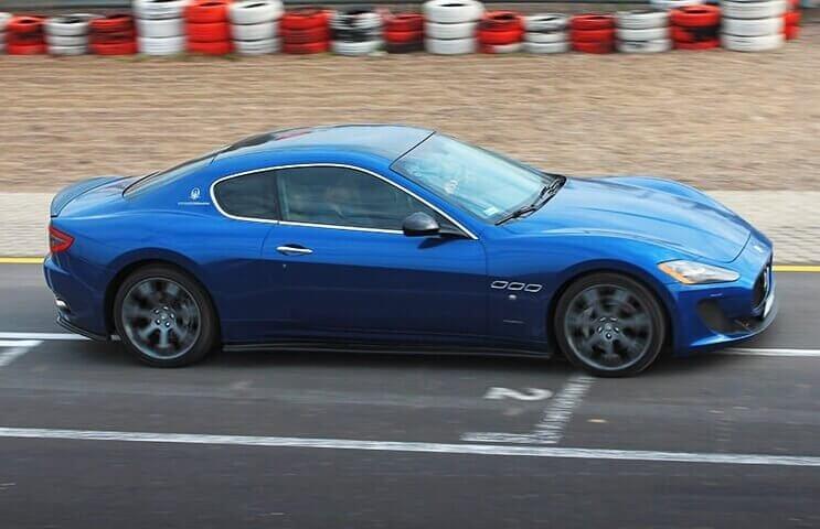 Jazda po torze Maserati