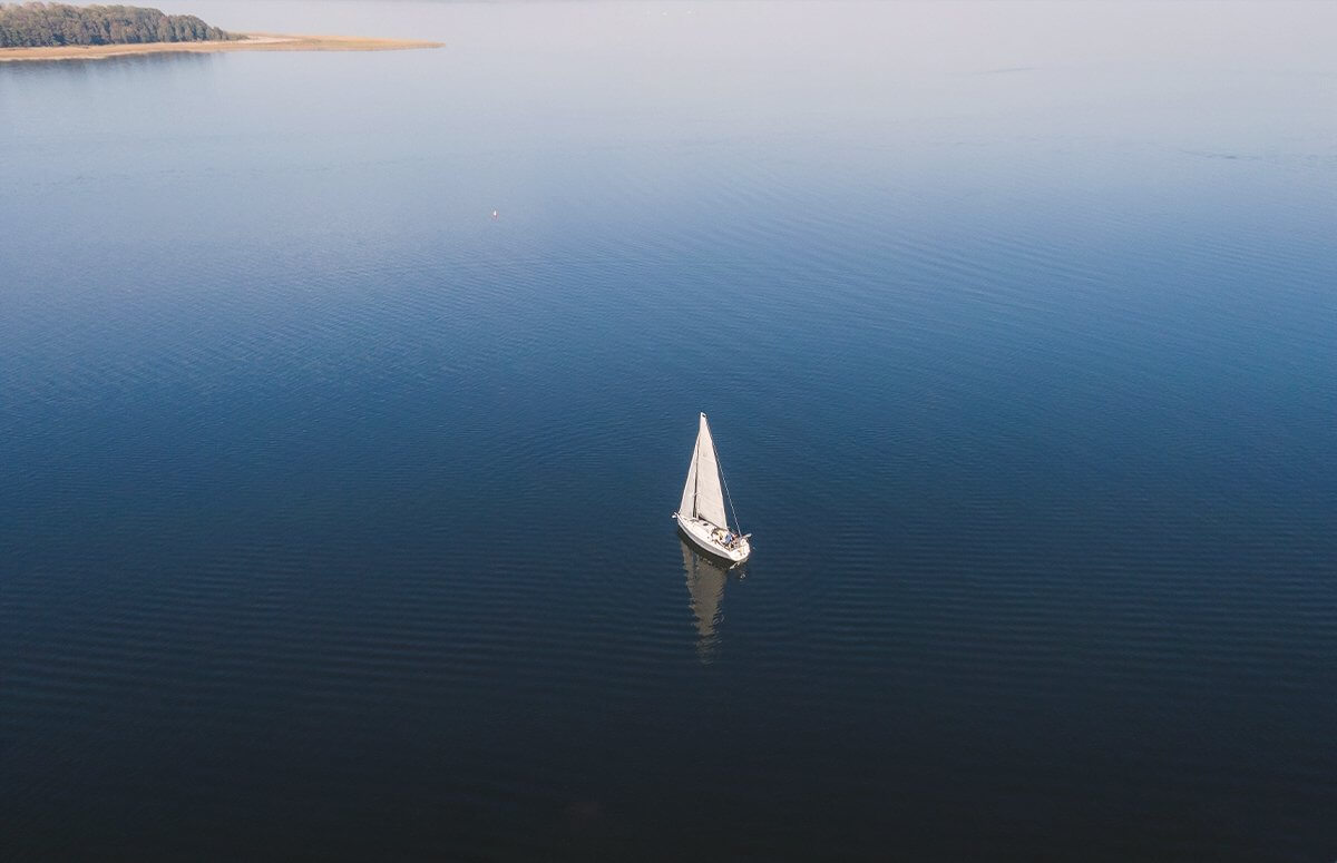 Mazurski relaks - Dzień pod żaglami z lekcją żeglowania