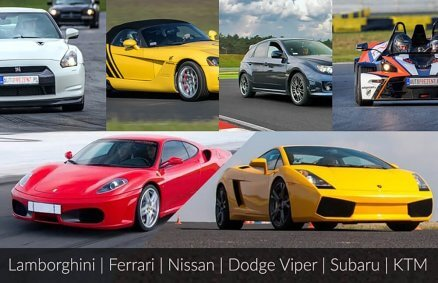 Super Samochody - pojedynek na torze