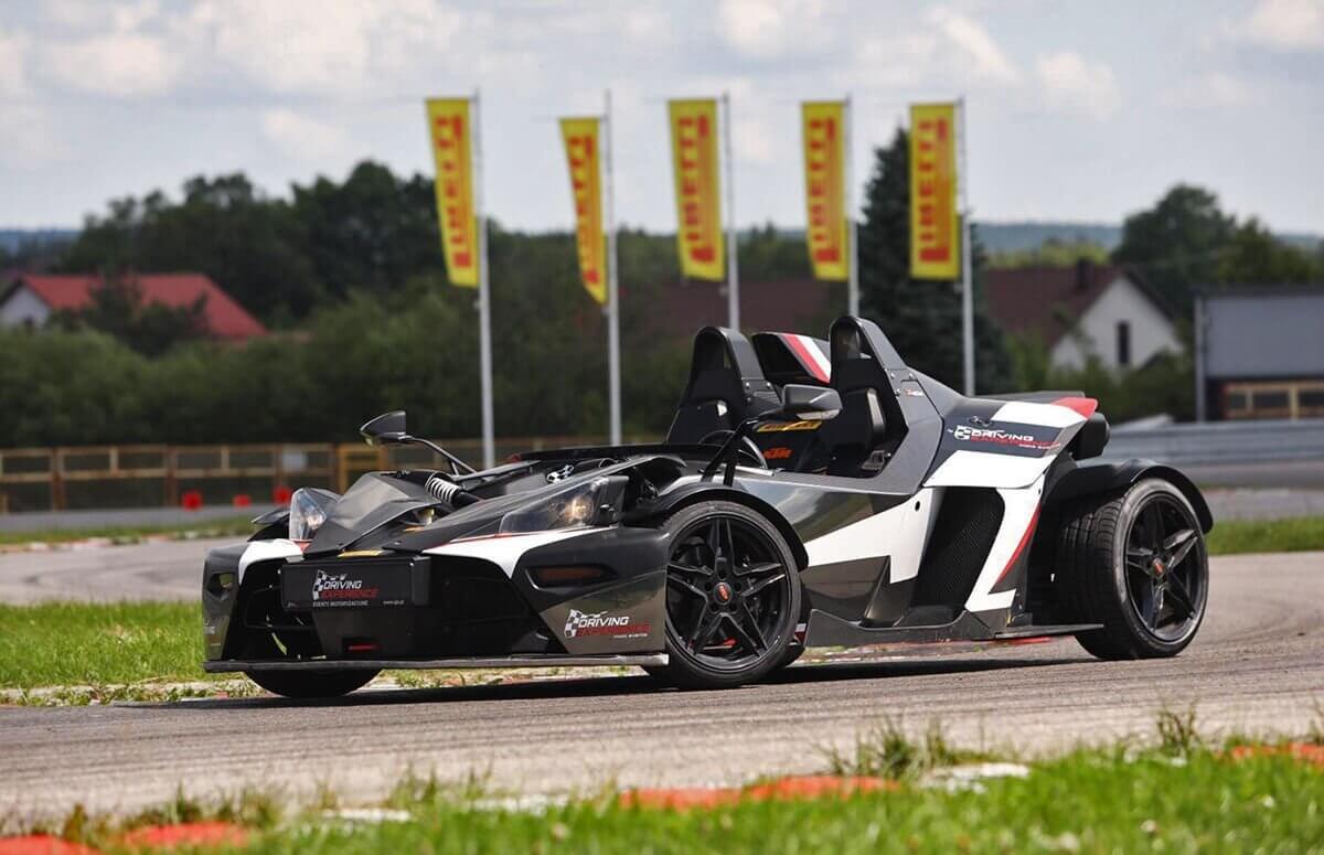 KTM X-Bow - Jazda za kierownicą bolida