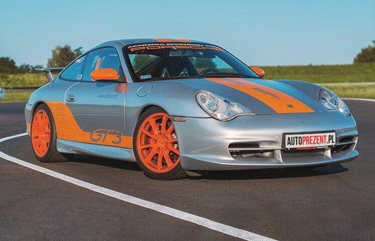 Co-drive Porsche 911 - Tor Poznań Główny