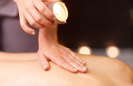 Czar Orientu - masaż świecą