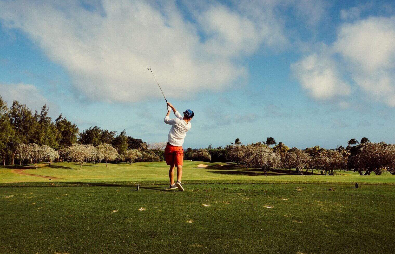 Lekcja golfa dla początkujących