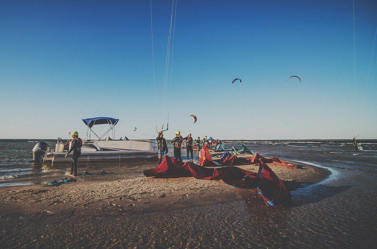 Kitesurfing - kurs