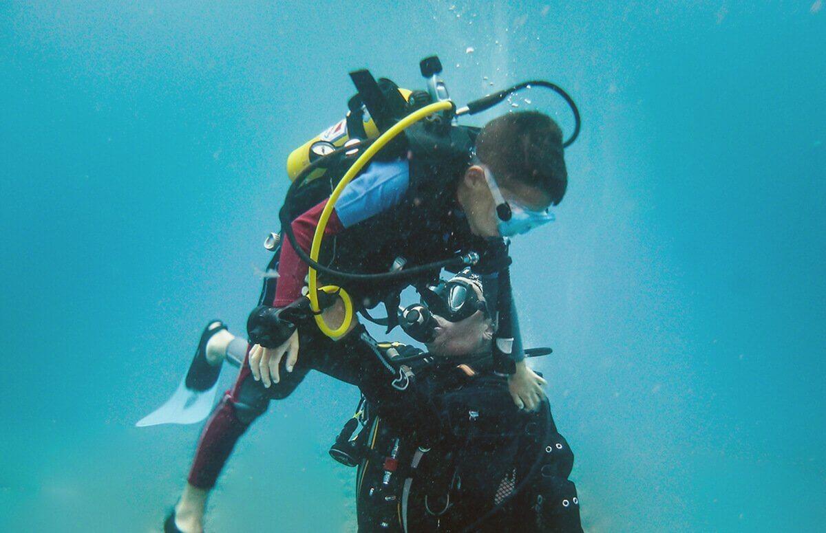 Nauka nurkowania dla dzieci