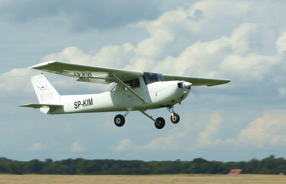 Lekcja latania i lot nad Wrocławiem
