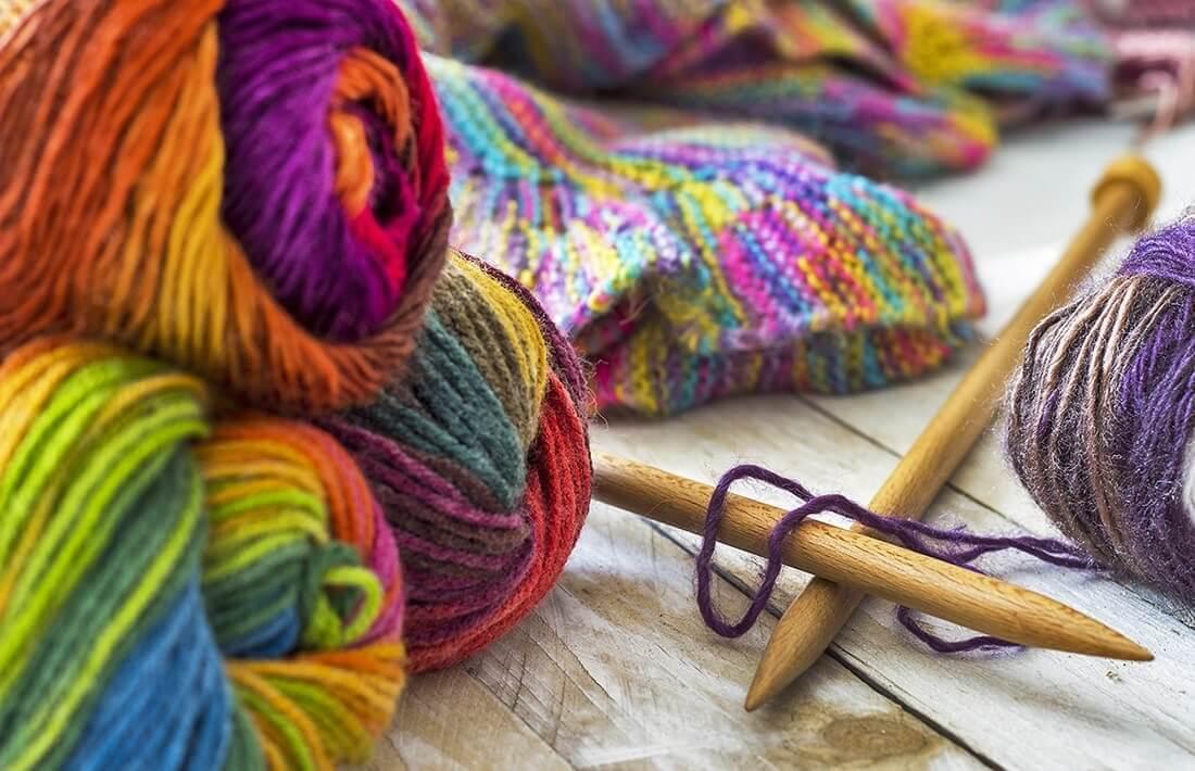 Nauka robienia na drutach w prezencie