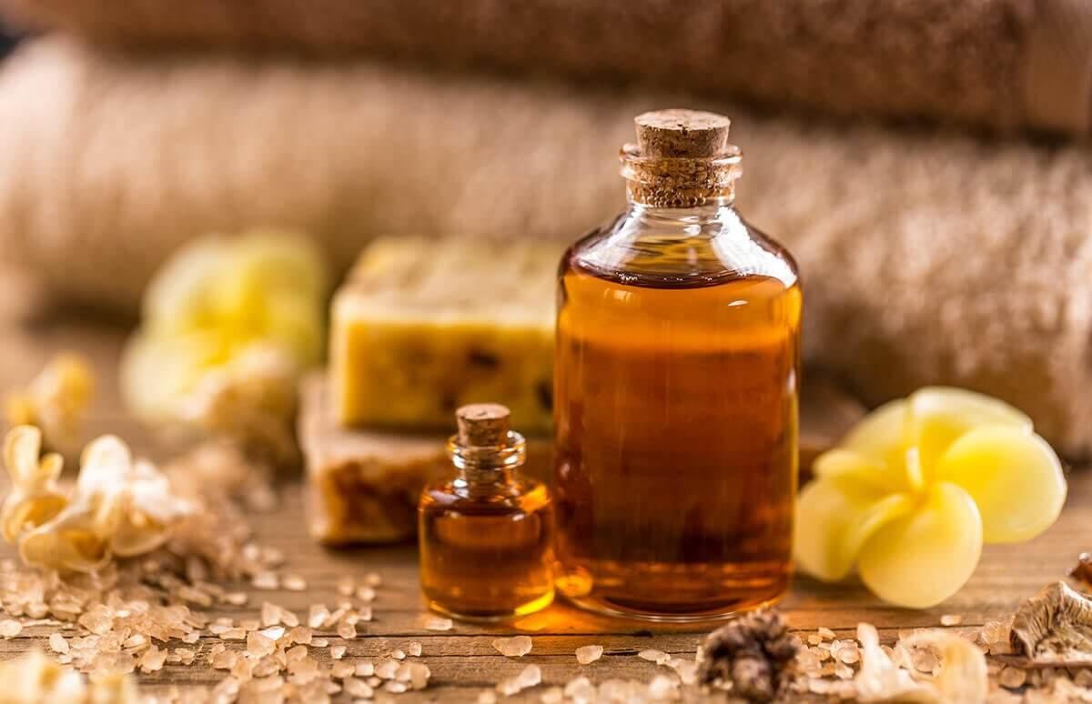 Olejek do masażu relaksayjnego ciała