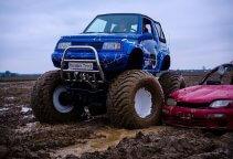 Jazda mini monster truckiem