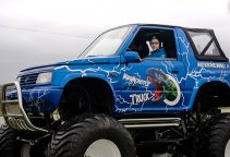 Monster truck jazda dla dzieci