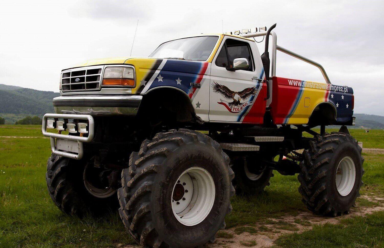 Jazda Monster Truckiem w Warszawie dla 2 osób
