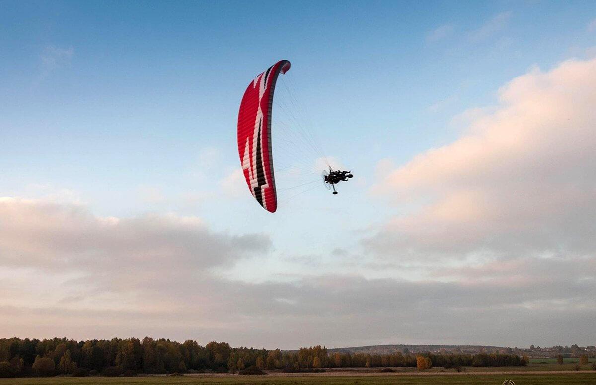 Górki lot motoparalotnią dla 2 osób - Kotlina Żywiecka