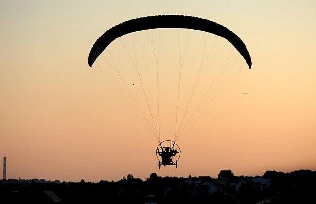 Loty motoparalotnią - Maków Podhalański