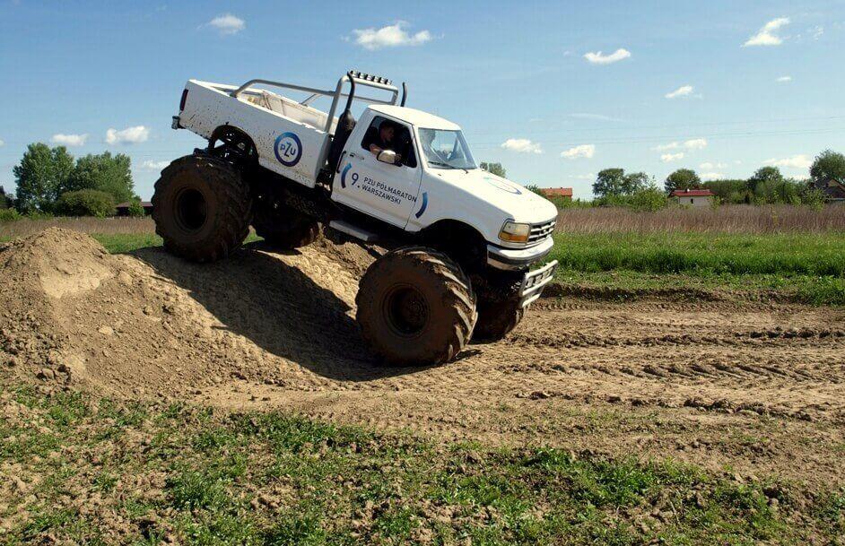Jazda terenowa Monster Truckiem dla dwojga