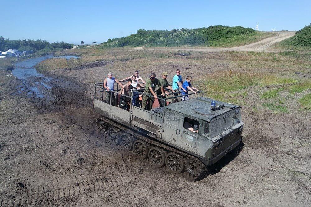 Jazda ciągnikiem artyleryjskim