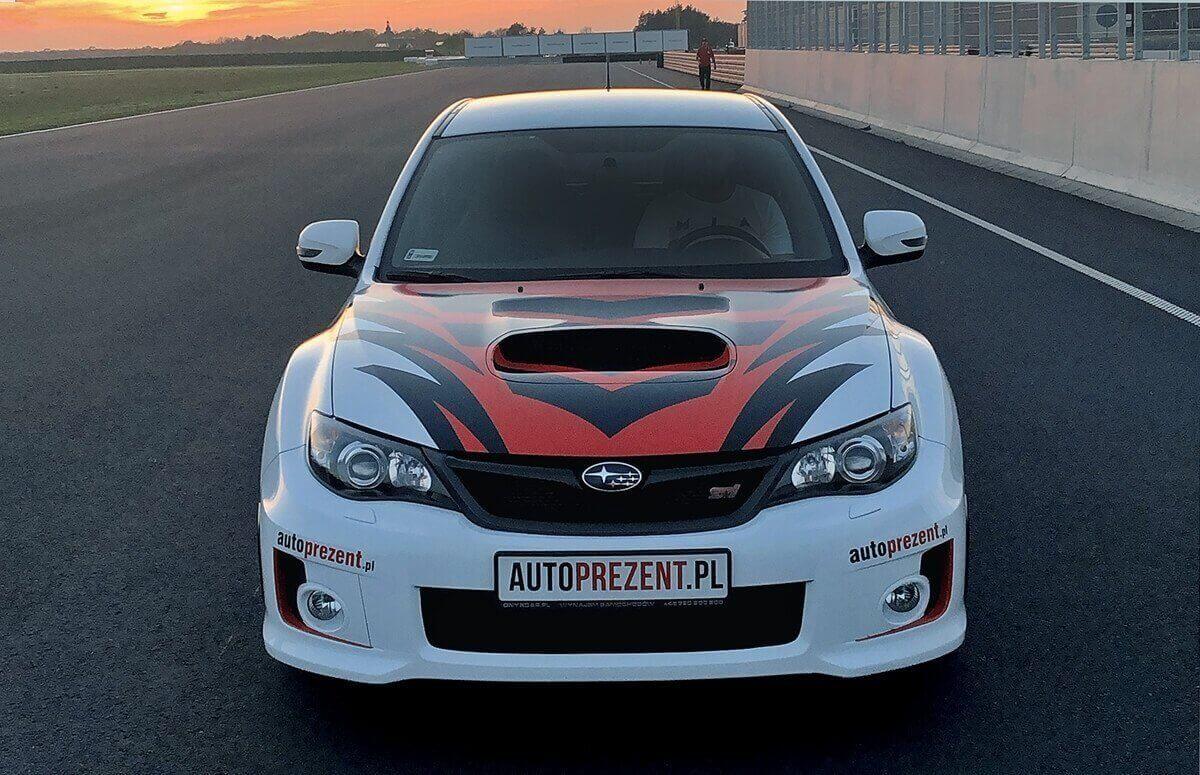 jazda Subaru - voucher dla miłośnika adrenaliny