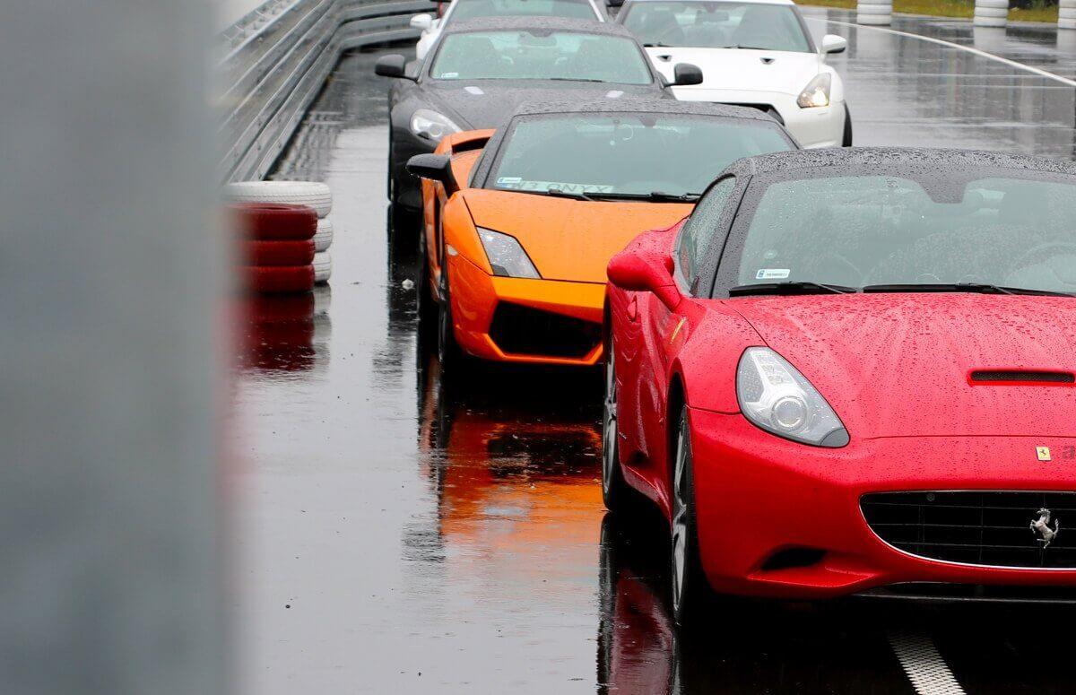 Ferrari - samodzielna jazda za kierownicą Ferrari California