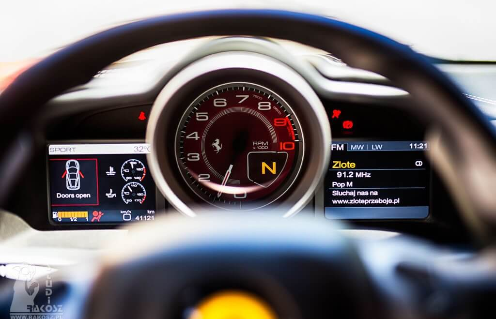 Jazda za kierownicą Ferrari F458 Italia