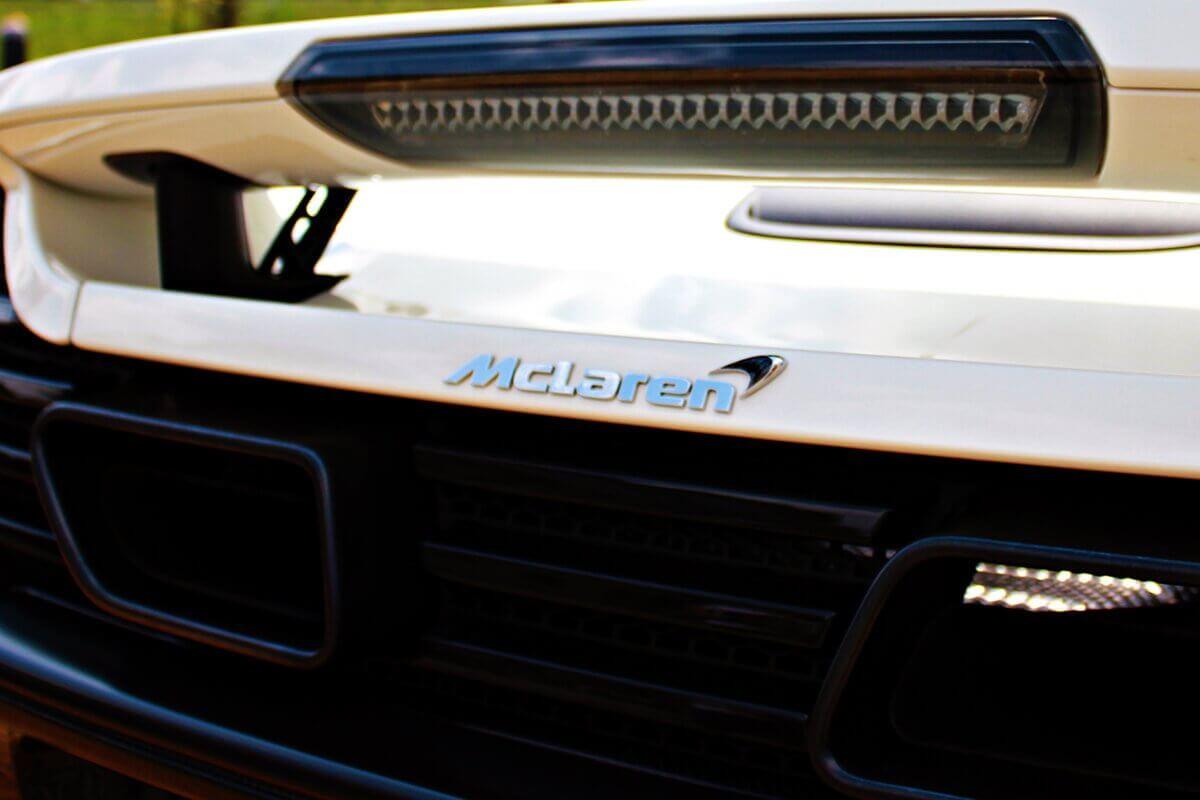 McLarenem 650S prezent