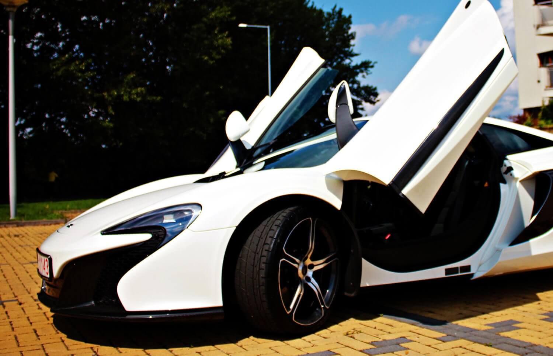 Poprowadź McLarena 650S