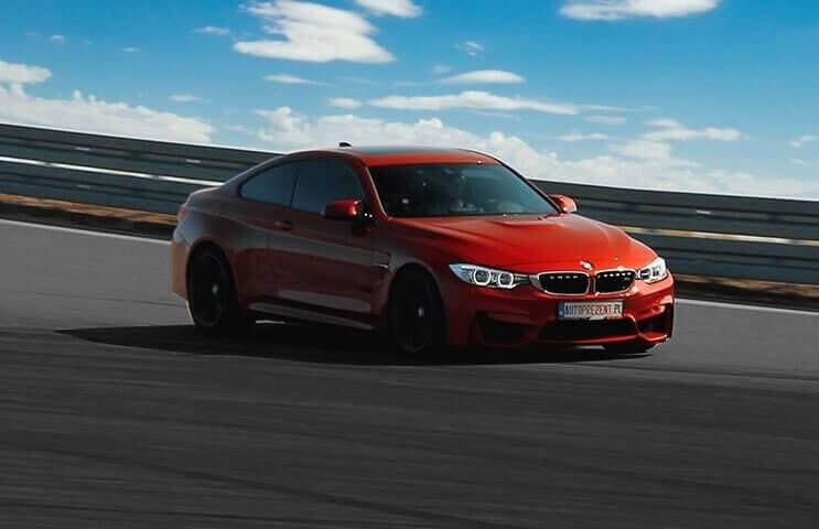 Jazda jako pasażer w BMW M4