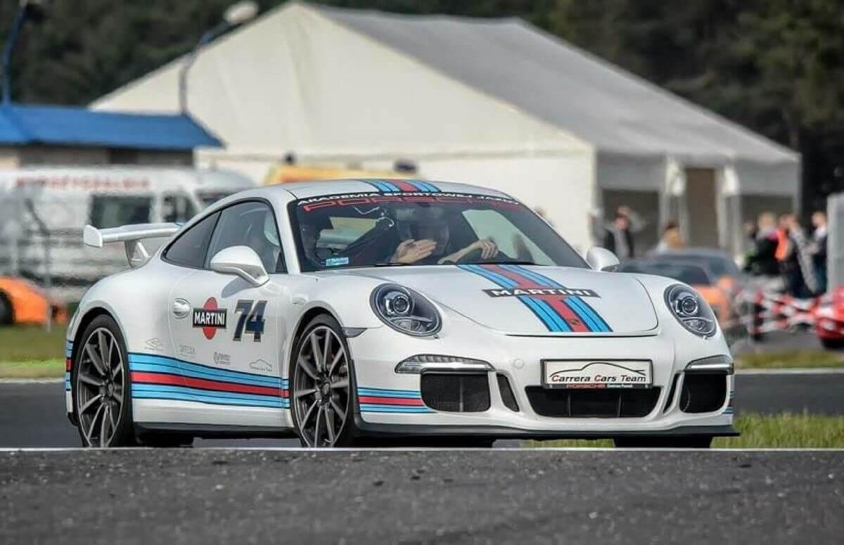 Porsche 911 - ekstremalna jazda