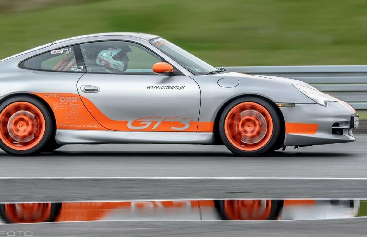 Porsche 911 ulicami Poznania