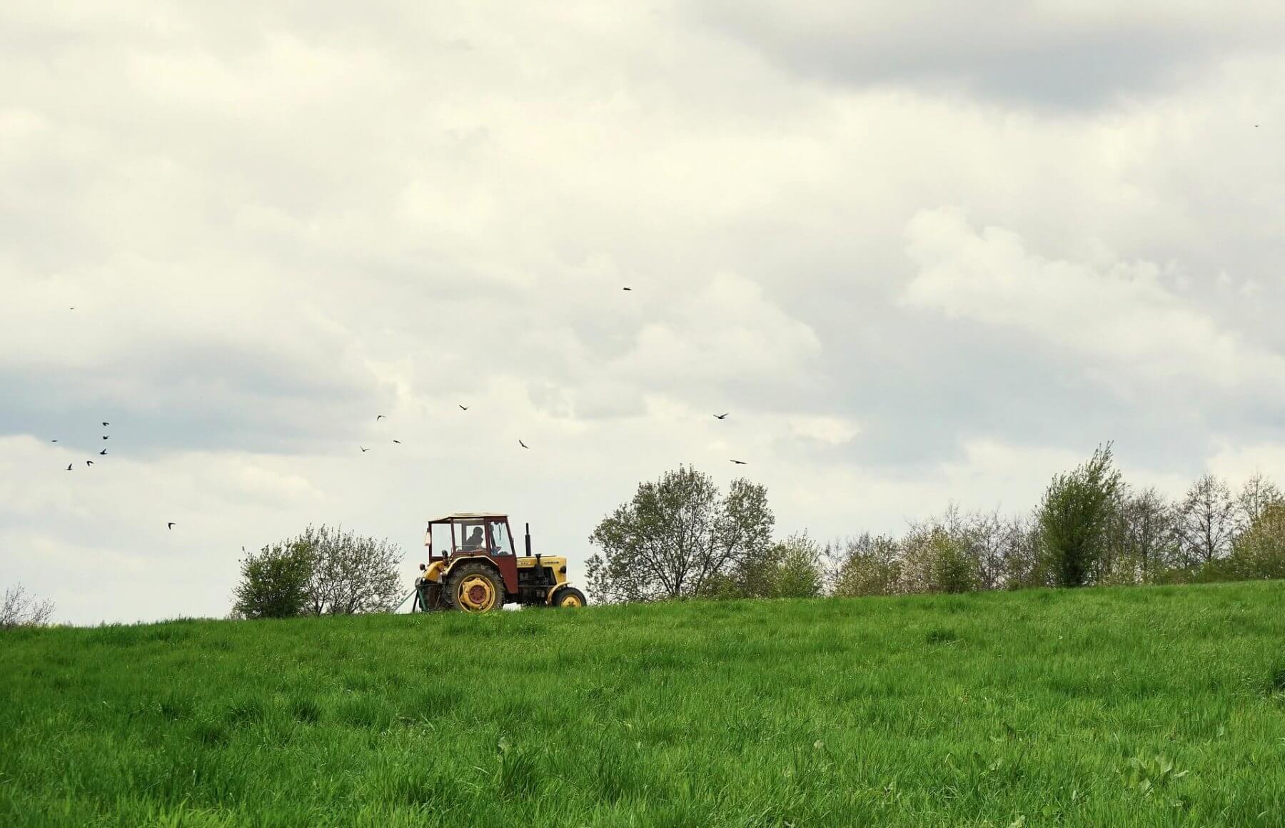 Poprowadź traktor