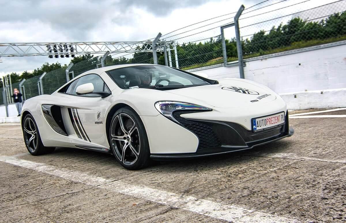 Jazda za kierownicą McLarena 650S w prezencie