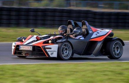 Jazda bolidem po torze - KTM X-Bow | Prezent
