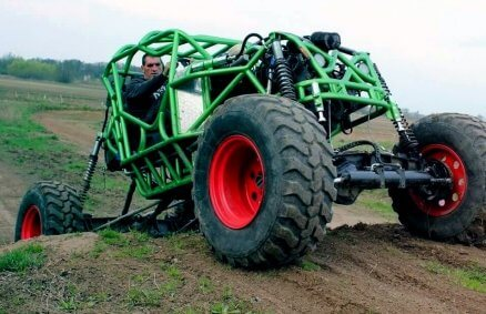Monster Buggy off-road - ekstremalna jazda