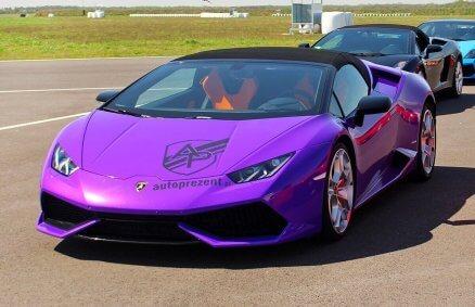 Jazda Lamborghini Huracan na torze (3 okrążenia)