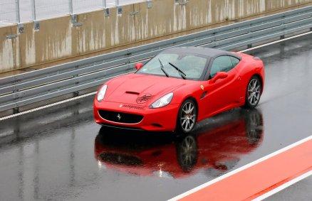 Ferrari California - Jazda na torze wyścigowym