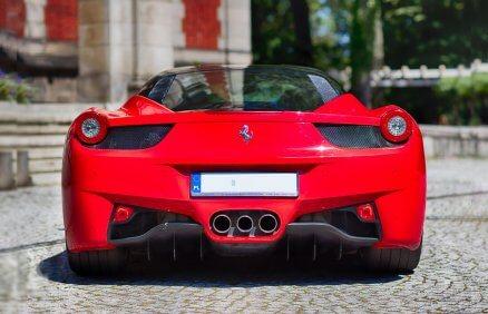 Ferrari F458 Italia - jazda na torze